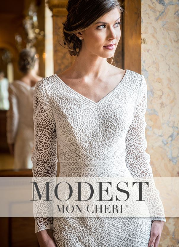 Woman wearing long sleeve white wedding dress