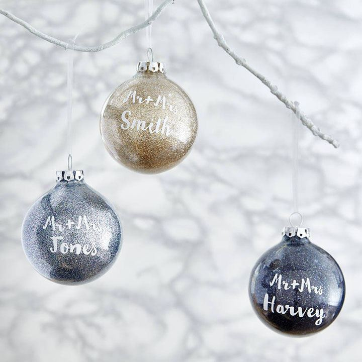 Custom Wedding Ornaments