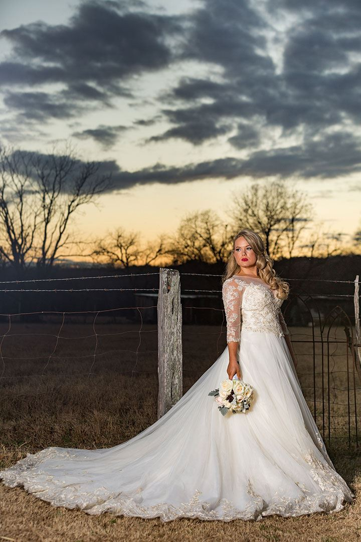 Rustic Chic Wedding In Texas