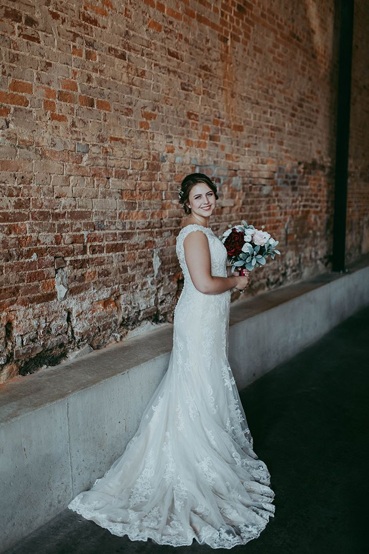 Sweet Bride Wears Enchanting By Mon Cheri For Her June Wedding