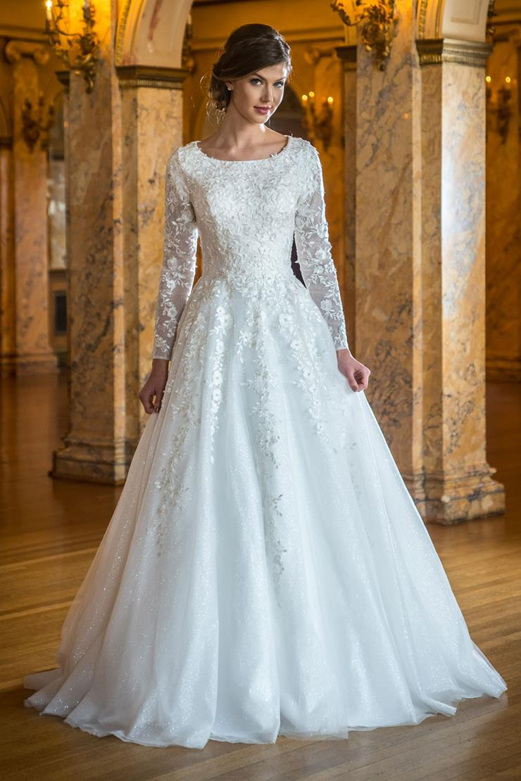Modest Wedding Dresses   Modest by Mon Cheri